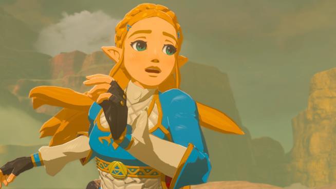 Zelda è in pericolo in The Legend of Zelda: Breath of the Wild