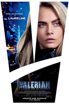 Un poster con il primo piano di Laureline