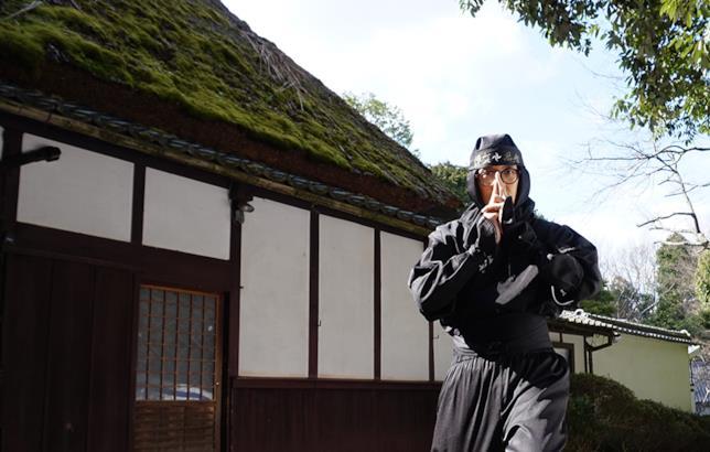 un ninja figurante di Iga