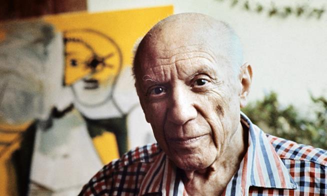 Il pittore Pablo Picasso