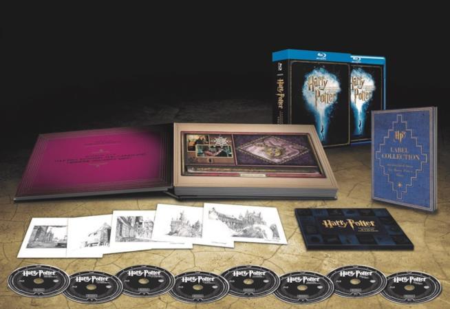 I contenuti esclusivi dell'edizione Amazon della Collezione Harry Potter