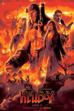 Il poster demoniaco di Hellboy