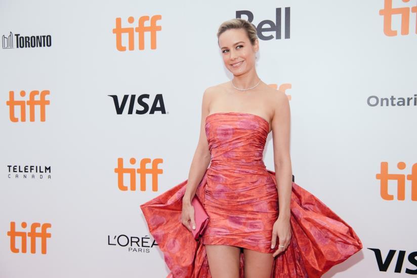 Brie Larson sorridente a un evento