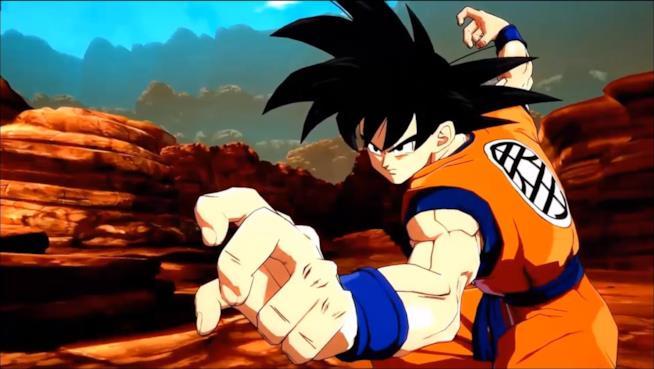 Dragon Ball FighterZ Goku base
