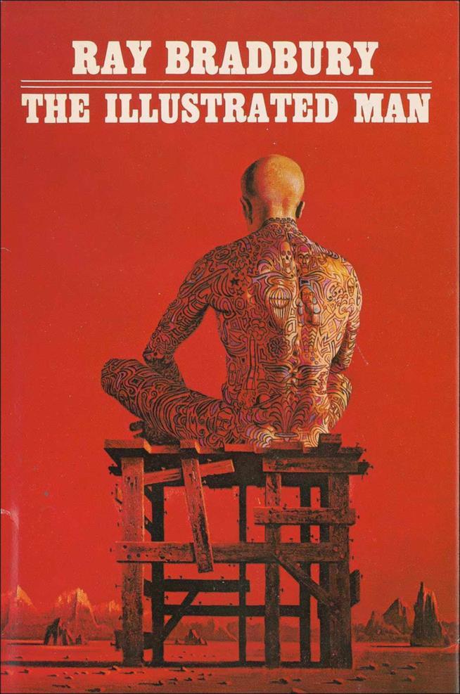 La copertina dell'edizione originale di L'Uomo Illustrato