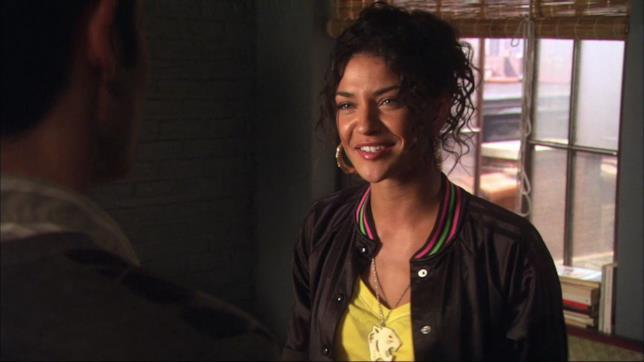 Vanessa Abrams in una scena di Gossip Girl