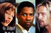 Milla Jovovich, Denzel washington e Brad Pitt nella foto cover