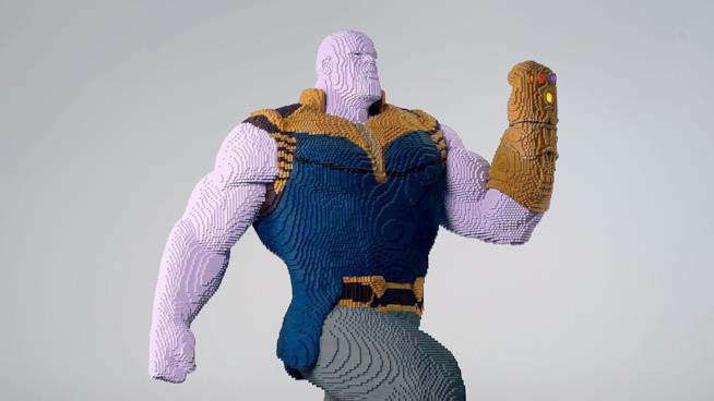 Thanos in versione LEGO