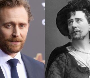 Tom Hiddleston e Herbert Beerbohm Tree a confronto