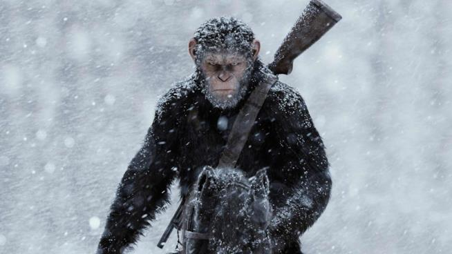 Andy Serkis è Cesare in The War - Il pianeta delle scimmie