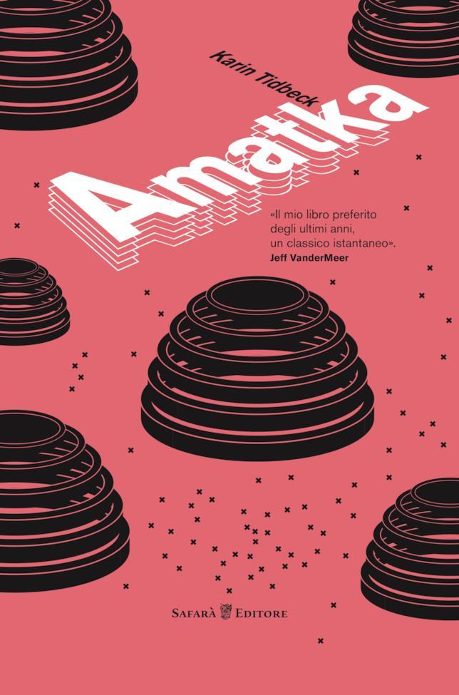 La copertina di Amatka