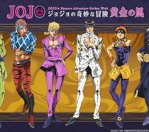 Jojo personaggi quinta serie