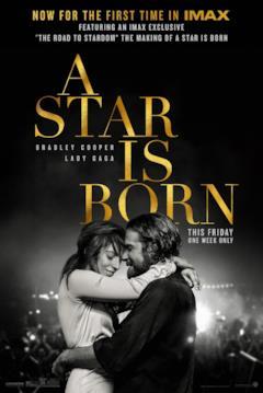Il poster IMAX di A Star is Born