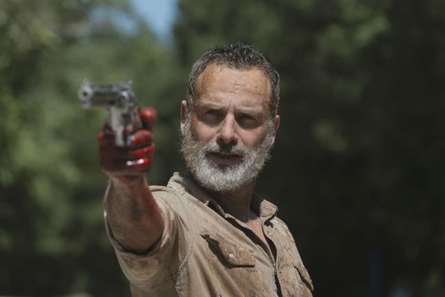 L'addio di Rick Grimes