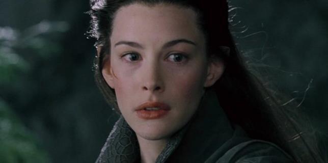 Arwen è un'elfa bellissima