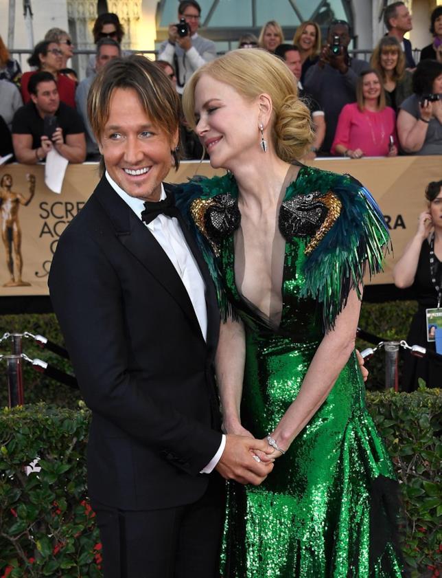 Keith Urban e Nicole Kidman sul tappeto rosso
