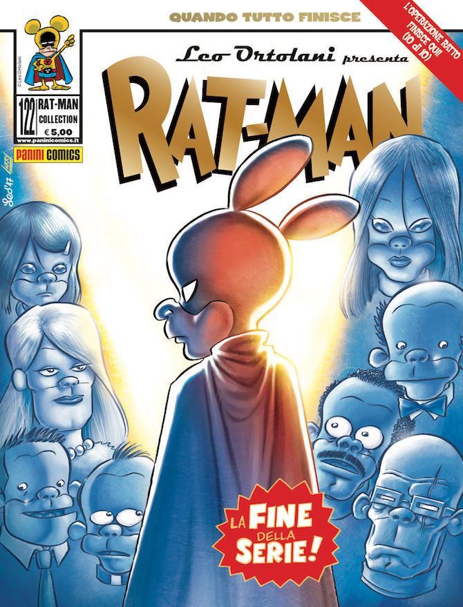 La copertina dell'ultimo numero di Rat-Man