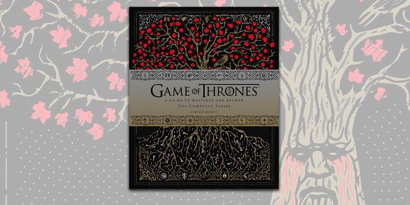 La copertina della guida ufficiale di Game of Thrones di Chronicle Books