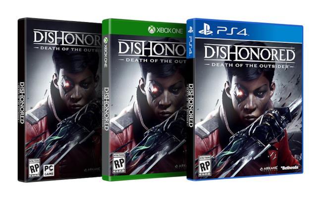 Dishonored: La morte dell'Esterno in uscita il 15 settembre 2017