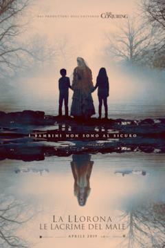 La Llorona nel poster ufficiale italiano del film del 2019