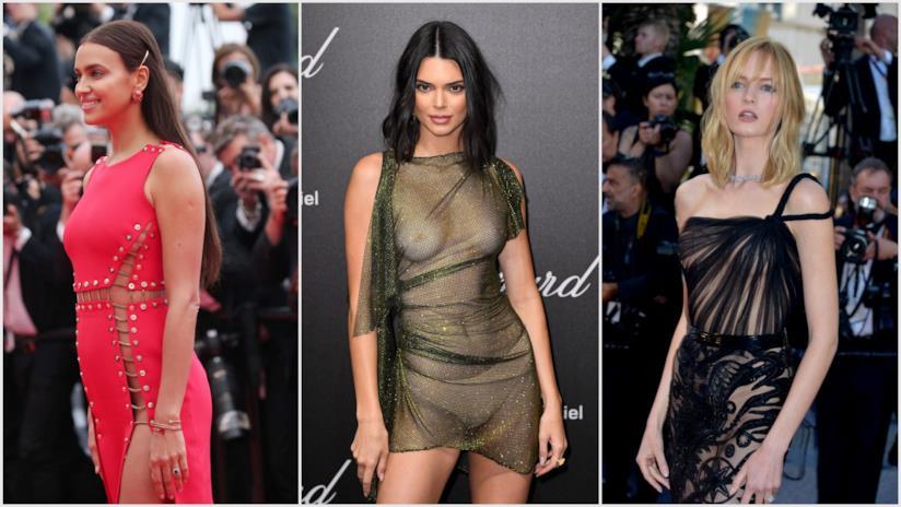 Irina Shayk, Kendall Jenner, Daria Strokous