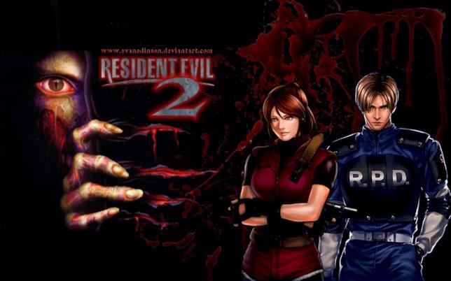 Claire e Leon in un'immagine di Resident evil 2