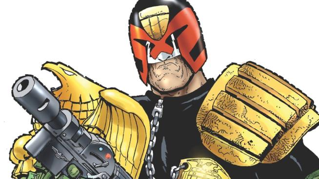 Judge Dredd di Carlos Ezquerra