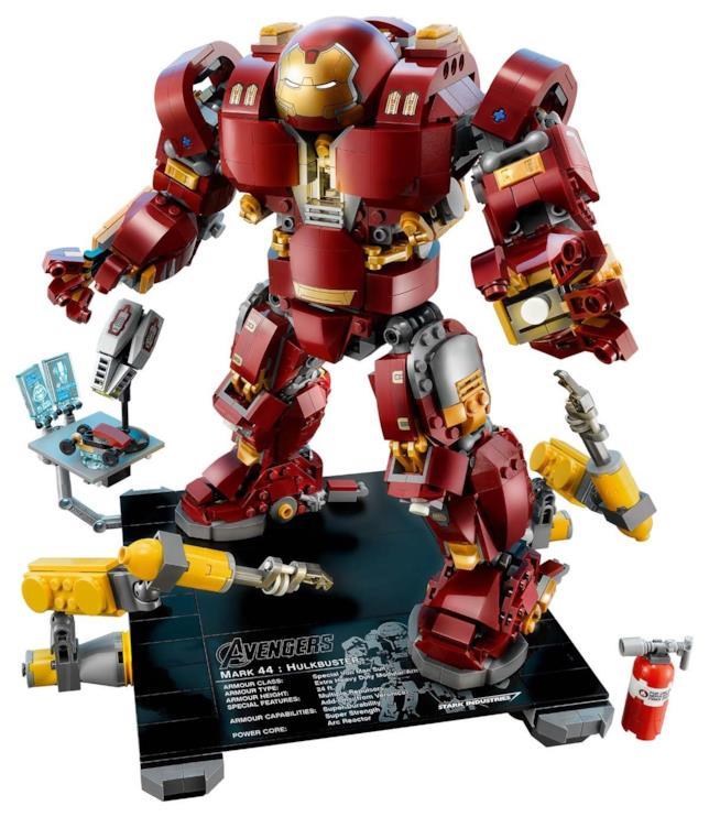 Alcuni dettagli del nuovo set di LEGO Hulkbuster: Ultron Edition