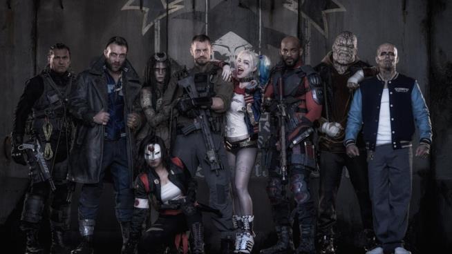 Suicide Squad, film basato sul gruppo di cativi dei fumetti DC Comics