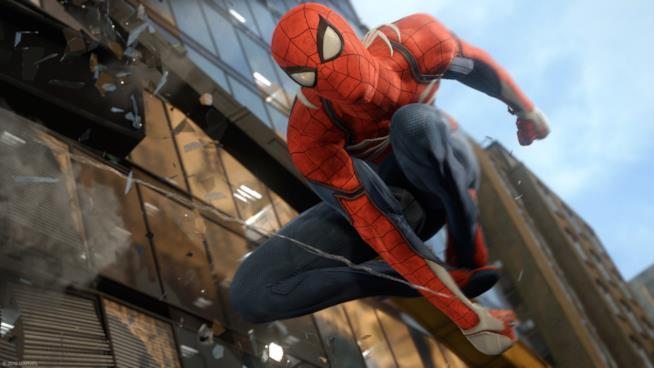 Lo Spider-Man di Insomniac Games