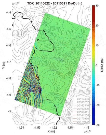 Un grafico sullo scioglimento repentino del ghiacciaio Thwaites