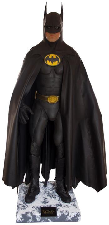 Il costume completo di Batman indossato da Micheal Keaton nel 1992