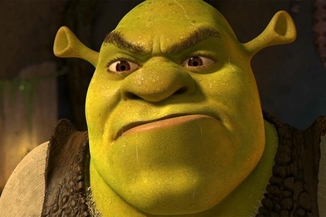 Shrek, l'Orco protagonista della saga Dreamworks
