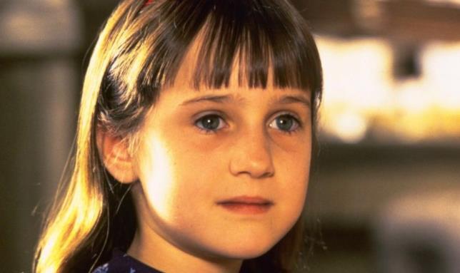 Mara Wilson in Matilda 6 mitica