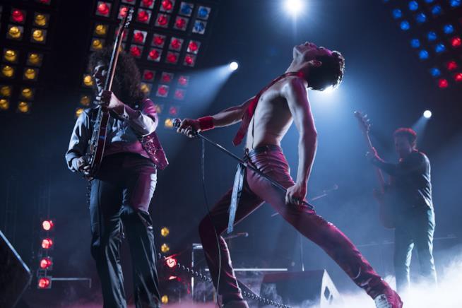 "Rami Malek parla di ""Bohemian Rhapsody"" a Roma insieme a Gwilym Lee"