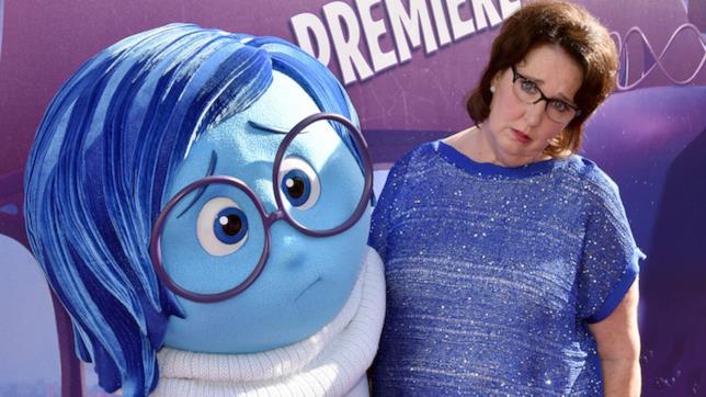 Phyllis Smith è la doppiatrice di Tristezza in Inside Out