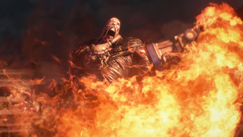 Nemesis nel remake di Resident Evil 3