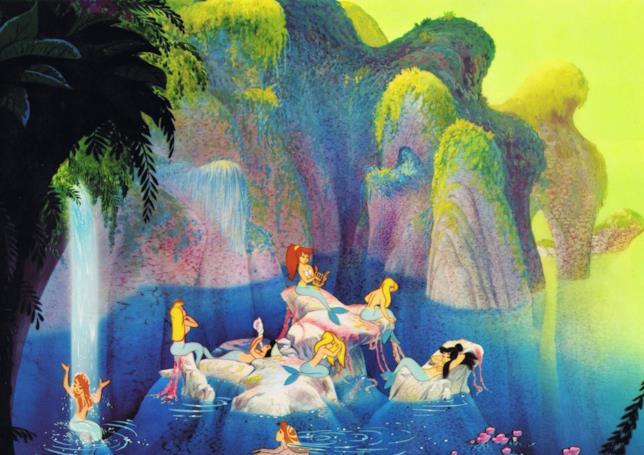 Le sirene nel Classico Disney Peter Pan