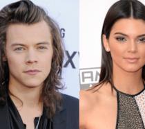 Primo piano di Harry Styles e Kendall Jenner