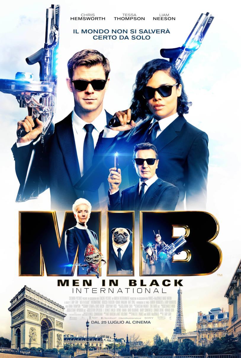 La locandina italiana di Men in Black International