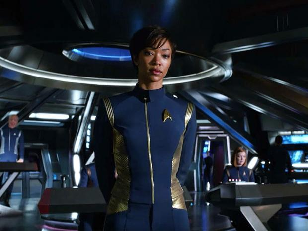 Sonequa Martin-Green è Michael Burnham in Star Trek: Discovery