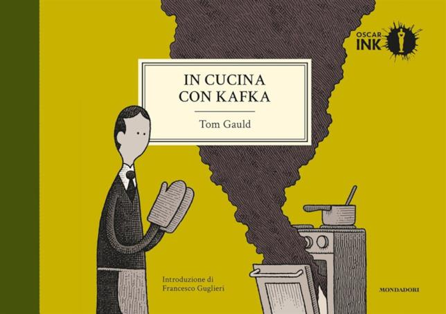 La copertina di In cucina con Kafka