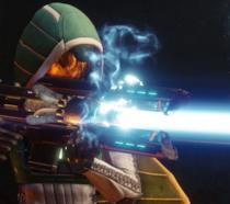 Una Cacciatrice imbraccia il Cuore Gelido in Destiny 2