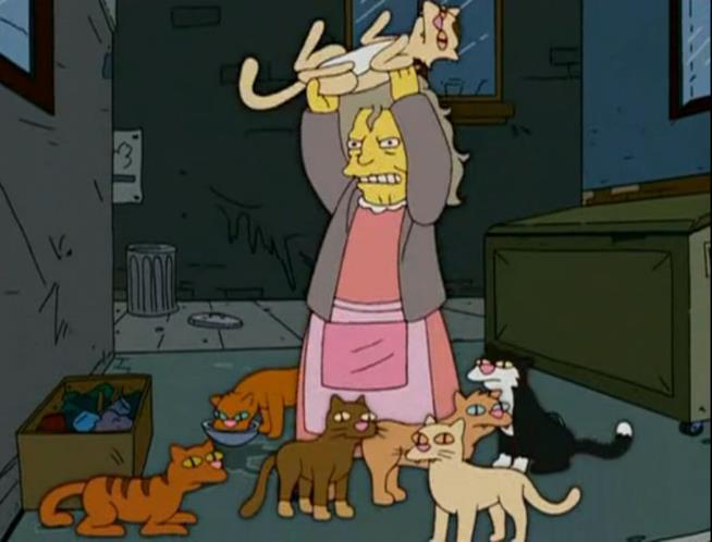"""Il personaggio dei Simpson in una scena dell'episodio """"come eravamo... Springfield"""""""