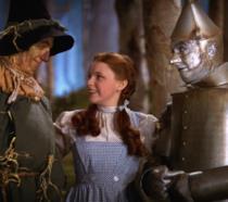 Dorothy con i nuovi amici
