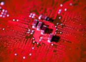 Alcuni transistor collegati a dei chip