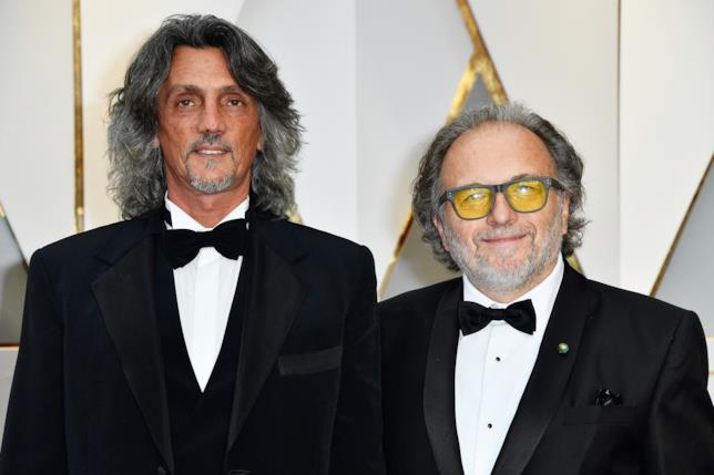 Alessandro Bertolazzi e Giorgio Gregorini premi Oscar