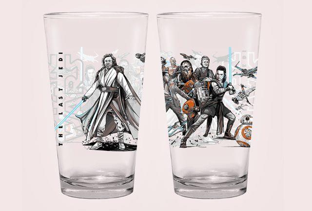 I nuovi bicchieri di Star Wars tradiscono uno spoiler