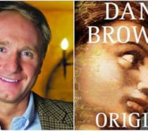 Dan Brown in un collage con Origin