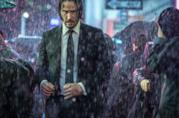 Keanu Reeves in una scena del film